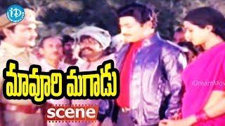 Maavoori Magaadu Movie Climax Scene || Krishna, Sridevi, Suthi Veerabhadra Rao - IDREAMMOVIES
