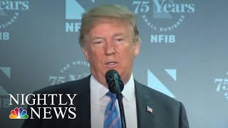 President Donald Trump Defiant About Immigration Amid Mounting Outrage | NBC Nightly News - NBCNEWS
