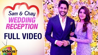 Samantha - Naga Chaitanya Wedding Reception | FULL VIDEO | Nagarjuna | Mango Videos - MANGOVIDEOS