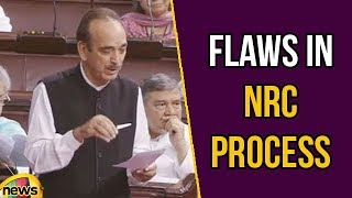 Ghulam Nabi Azad Responding to Rajnath Singh's questions Says Flaws in NRC Process |  Mango News - MANGONEWS