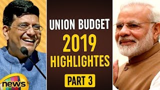 Budget Session 2019 Highlights   Piyush Goyal Hikes Tax-Free Gratuity Limit To Rs 30 Lakh  MangoNews - MANGONEWS