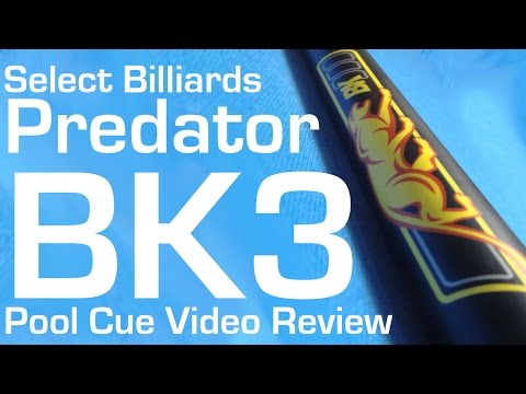 Predator BK3 Break Cue - Select Billiards Video Review