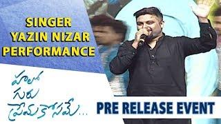 Singer Yazin Nizar Performance - Hello Guru Prema Kosame Pre-Release Event - Ram Pothineni, Anupama - DILRAJU