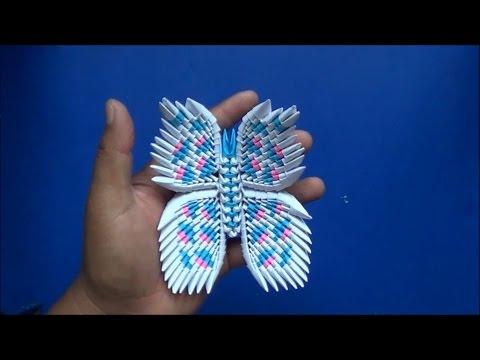Origami 3D Mariposa