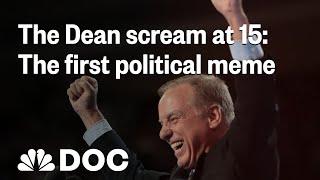 The Howard Dean Scream At 15: The First Political Meme | NBC News - NBCNEWS