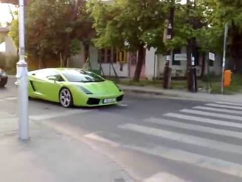 Lamborghini Gallardo Brutal Accelerate, in Hungary.