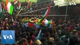 Thousands Attend Funerals for Policemen Killed in Kashmir Attack - VOAVIDEO