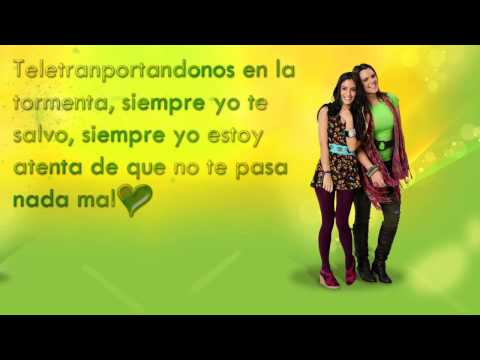 Letra de MAPS   Grachi 2   Grachi y Mechamp4