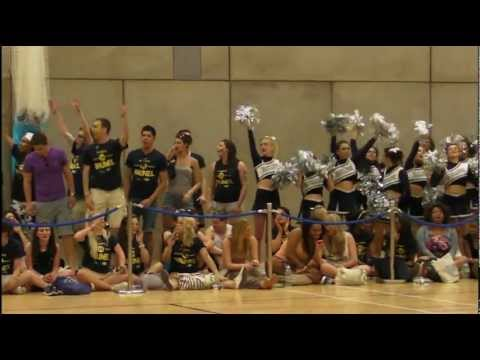 ST Mary vs Brunel University Varsity Basketball 2012