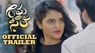 Rama Chakkani Seetha Theatrical Trailer | Indhra | Sukrutha | Priyadarshi - TFPC