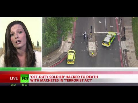 UK soldier beheaded outside army barracks in Woolwich, London