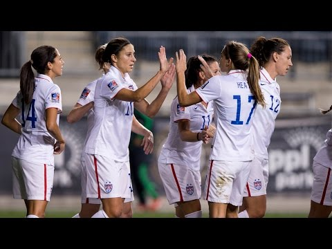 WNT vs. Mexico: Highlights - Oct. 24, 2014