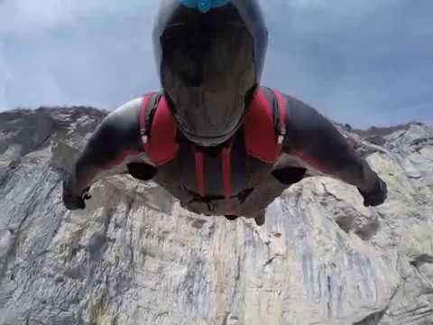 Brento Italy 2017 Triple Crown Base Jumping (tracking, wingsuit, aerials)