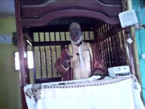 Imam Kofin Daramy given Friday Kutbah in Mandingo at angola Mosque,Nzerekore.part 3