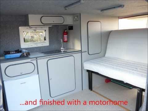 Ford Transit Van To DIY Campervan Conversion