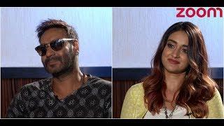 'Raid' Stars Ajay Devgn And Ileana D'Cruz Play Guess The Bollywood Celeb Game - ZOOMDEKHO