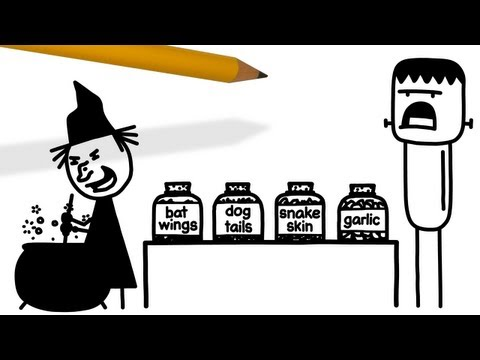 Tricky Treat | Pencilmation Cartoon #29