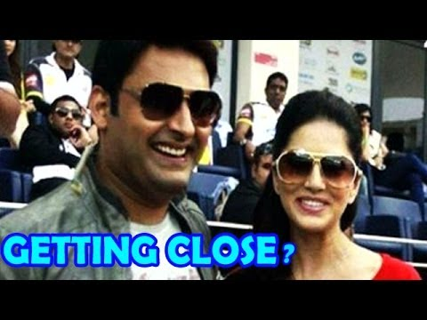 Comedy Nights With Kapil : Kapil Sharma getting close with Sunny Leone?