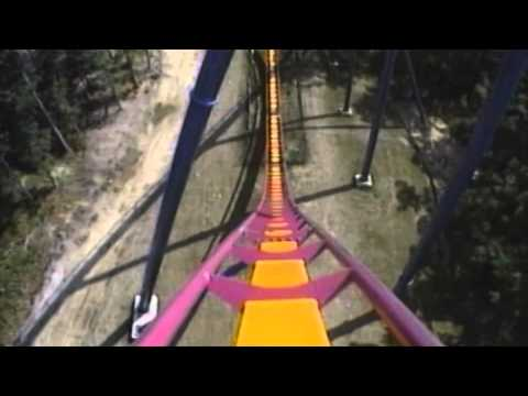 Nitro Roller Coaster POV Off-Ride On-Ride Front Seat Six Flags Great Adventure New Jersey