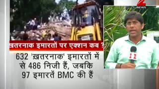 Ghatkopar: Death toll rises to 17 in Building Collapse | 4 मंजिला इमारत ढही, अब तक 17 की मौत - ZEENEWS