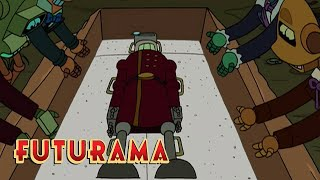 FUTURAMA | Season 3, Episode 1: Uncle Vladimir's Funeral | SYFY - SYFY