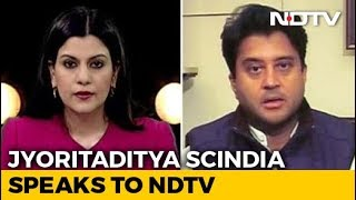 """Like My Father, No Hunger For Posts"": Jyotiraditya Scindia To NDTV - NDTV"