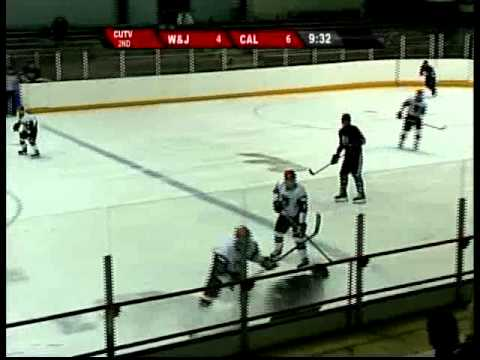 CALIFORNIA vs W&J CHA hockey 2014 (CUTV SPORTS)