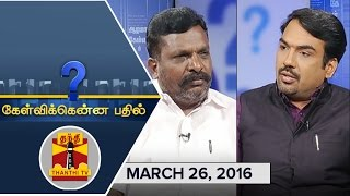 Best of Kelvikkenna Bathil : Exclusive Interview with VCK Chief Thol. Thirumavalavan – Thanthi TV Show