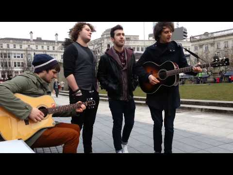 Right Side Of The Pier ( Daniel And The Scandals ) Acoustic Session Manchester