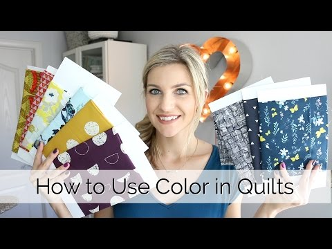 5 Tips for Using Color and Prints in your Quilting