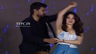 Sundeep Kishan and Tamanna Cute Dance Performance @ Next Enti Movie Pre Release Event | TFPC - TFPC