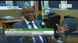 There are no losers in #Budget2018 expenditure cuts - Sfiso Buthelezi - ABNDIGITAL