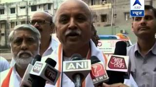 Togadia sends legal notice to media houses - ABPNEWSTV
