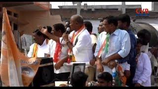 Bhongir Congress MLA Candidate Kumbam Anil Kumar Reddy Road Show | CVR News - CVRNEWSOFFICIAL