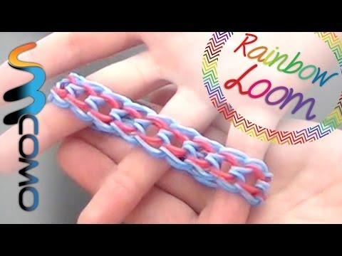 Rainbow Loom - Pulseira Escama de Dragão ( Com Quatro Lápis )