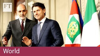 Giuseppe Conte to be next Italian prime minister - FINANCIALTIMESVIDEOS