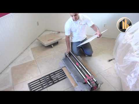 How To Cut Tile And Install Properly | Ceramic Tile Wesley Chapel FL