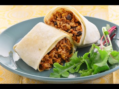 How To Make a Mexican Burrito