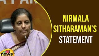 Defence Minister Smt Nirmala Sitharaman Press Conference | Nirmala Sitharaman Statement | Mango News - MANGONEWS