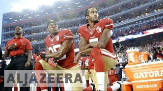 Trump: Fire players who kneel during US national anthem - ALJAZEERAENGLISH