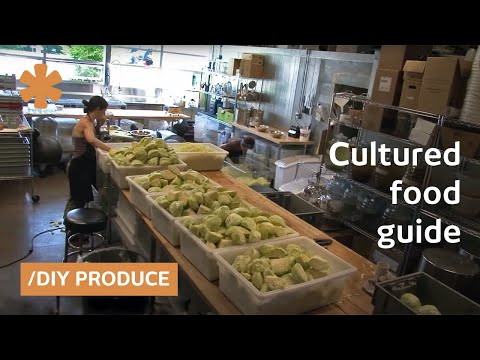 Living food: cultured pickles, fermented soda and vegetables that breathe