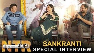 NTR Kathanayakudu Team Sankranthi Special Interview | Balakrishna | Vidya Balan | Krish | TFPC - TFPC