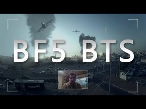 Battlefield 5 on Google Glasses - BTS