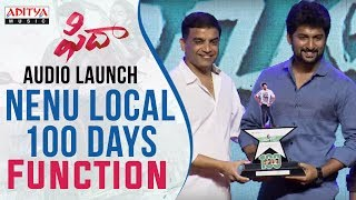 Nenu Local 100 Days Function At Fidaa Audio Launch || Varun Tej, Sai Pallavi || Sekhar Kammula - ADITYAMUSIC