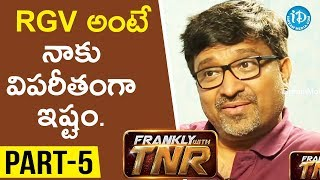 #Sammohanam Director Mohan Krishna Indraganti Part#5 || Frankly With TNR#116 | Talking Movies - IDREAMMOVIES