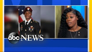 Gold Star widow speaks about phone call with Trump - ABCNEWS