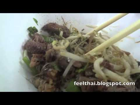  meepuie-hang skinny rice noodle with stewed beef - dried version