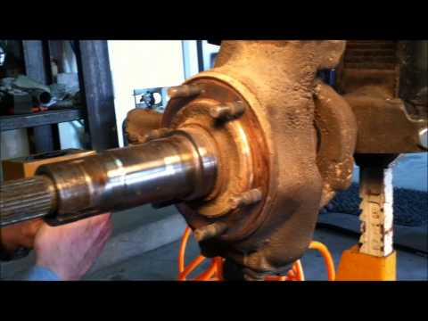 Dana 60 Spartan locker install part 1