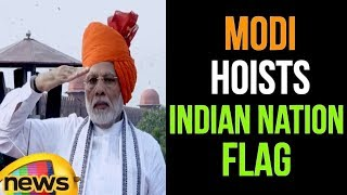 PM Modi Hoists Indian National Flag in Delhi | 72nd Independence day | Mango News - MANGONEWS