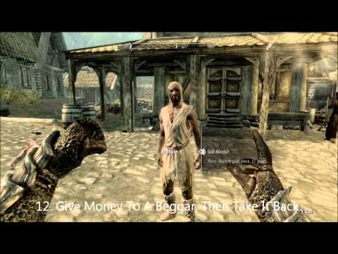 What To Do When You re Bored In Skyrim Episode 2